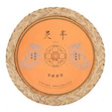 2019年番顺茶业500克灵峰百龄青沱