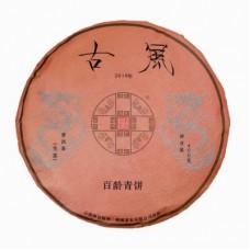 2019年番顺茶业400克古风百龄青饼