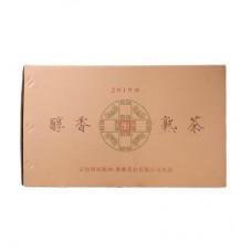 2019年番顺茶业6000克醇香箱装熟茶